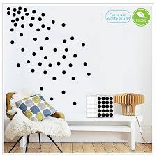 black wall decals polka dots vinyl wall