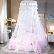 Miss Angelic Children Fairytale Premium Kids Bedroom Bed Canopy Pink Flowers For Sale Online Ebay