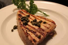 Grilled Swordfish With Capers & Lemon ...