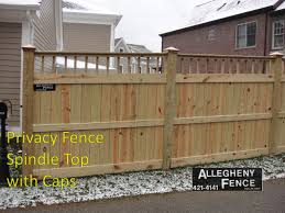 Pittsburgh Industrial Wood Fence Allegheny Fence