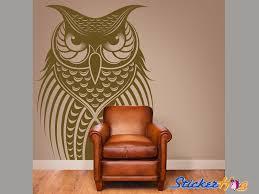 Owl Bird Vinyl Wall Art Decals