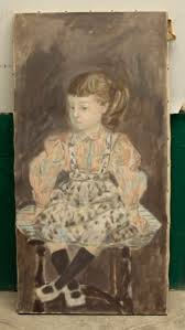 Polly on the Cricket Chair from the collection of | Artwork Archive