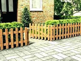 patio fencing ideas pictures