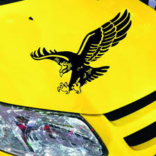 Car Truck Graphics Decals Reflective Eagle Decal Vinyl Car Stickers Auto Door Hood Cover Sticker Exterior Auto Parts And Vehicles