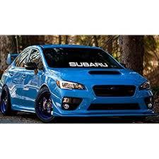 Wrx Logo Graphics Vinyl Decals Custom Car Sticker 1p For Subaru Impreza Wrx