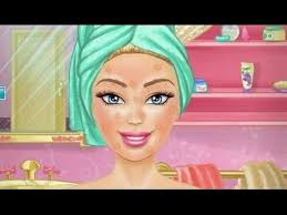 barbie make up game barbie style on