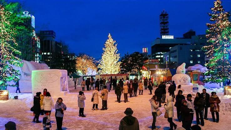Passpod, Sapporo, Musim Dingin