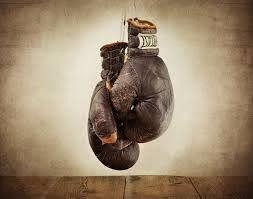 vintage boxing gloves print vintage