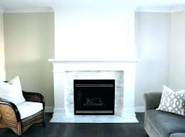 tile fireplace ideas marble white