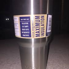 Find More Great Gift 30 Oz Yeti Cup With Decal Sticker Brand New For Sale At Up To 90 Off