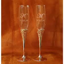 marchesa rose silverplate champagne glasses