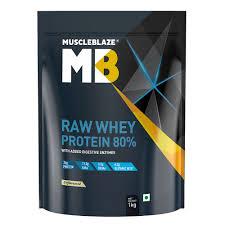 muscleblaze 80 raw whey protein powder