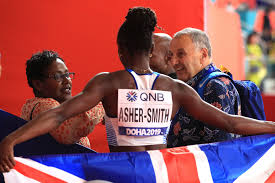 Dina Asher-Smith's journey from South London teen to world's No1 sprinter