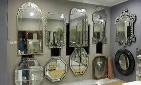 wall mirror antique venetian mirror