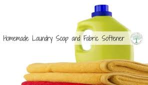 laundry soap and fabric softener