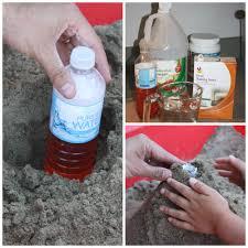 baking soda and vinegar volcano for