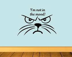 Grumpy Cat Decal Etsy
