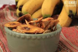 how to make chewy dried bananas