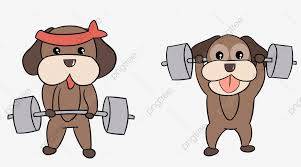 Hình ảnh Hercules Cử Tạ Chó Phim Hoạt Hình, Vẽ Tay, đấu Tranh, Kiên Trì  miễn phí tải tập tin PNG PSDComment và Vector