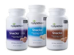 cleanse day snacks isagenix