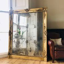 large french antique gilt mirror