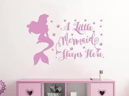 Harriet Bee A Little Mermaid Sleeps Here Wall Decal Reviews Wayfair
