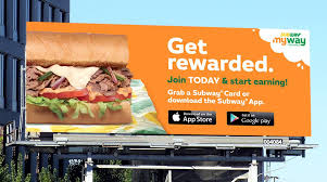 mysubwaycard rewards program