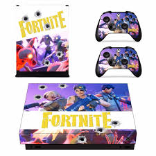 Fortnite Decal Skin Sticker Set For Xbox One X Console