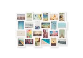 white rubix 24 photos cards multi wall