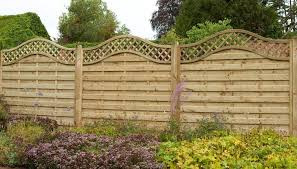1 8m X 1 8m Pressure Treated Decorative Europa Prague Fence Panel Forest Garden
