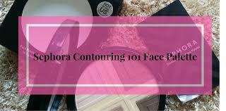 sephora contouring 101 face palette