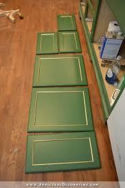 cabinet door progress repurposing idea