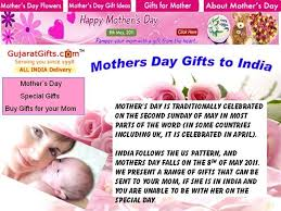 mothers day gifts to india authorstream