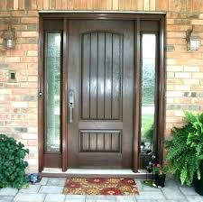 exterior doors with sidelights