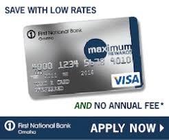 omaha maximum rewards credit card