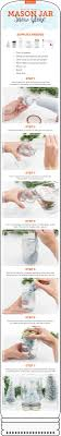 how to make a mason jar snow globe in 7