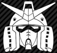 Gundam Head Die Cut Vinyl Sticker Decal Sticky Addiction