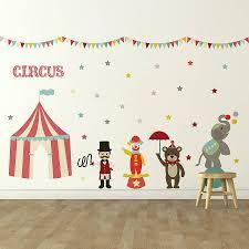Children S Circus Wall Sticker Set By Oakdene Designs Notonthehighstreet Com