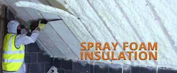 spray foam insulation high