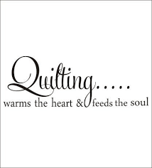 Quilting Vinyl Decal Wall Decal Quilting Wall Decal Warms The Heart And Feeds The Soul Wall Decal Quilting Decal Hobby Craft Room Decal