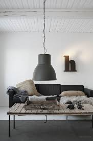 ikea industrial pendant with large