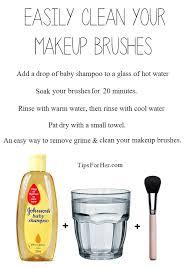 makeup brushes with vinegar saubhaya
