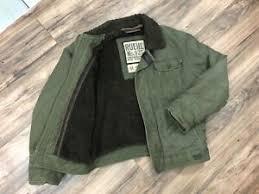 jacket coat size um m fur lined