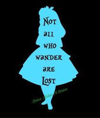 Alice In Wonderland Decal Alice In Wonderland Car Decal Etsy In 2020 Alice In Wonderland Silhouette Alice And Wonderland Quotes Dark Alice In Wonderland