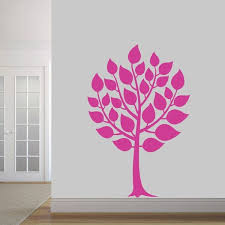 Shop Round Tree Wall Decal Overstock 20684994