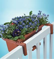 Fence Railing Planters Lee Valley Tools