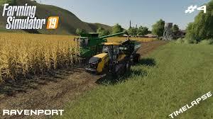 Big soybeans and corn harvest | Timelapse on Ravenport | Farming ...
