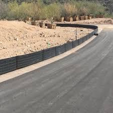Orion Erosion Control Regular Wireback Silt Fence