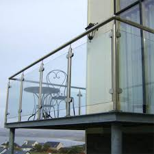 exterior railing stainless steel