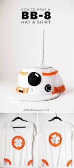 diy bb 8 droid hat shirt costume